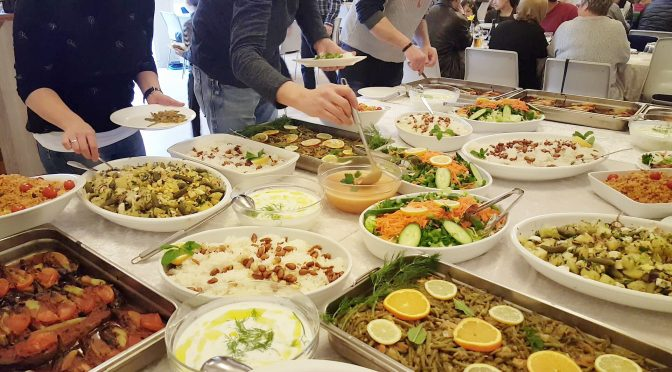 Fællesspisning – Idræt om dagen