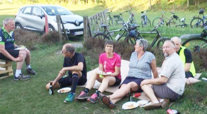 Fællesspisning – Cykeltur