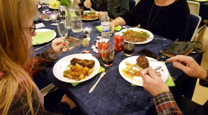 Fællesspisning med kulturhuset